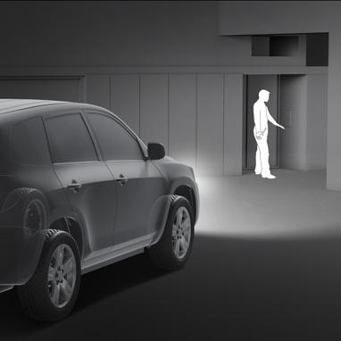 Автотаймер вимкнення світла (функція «Проведи мене додому»)