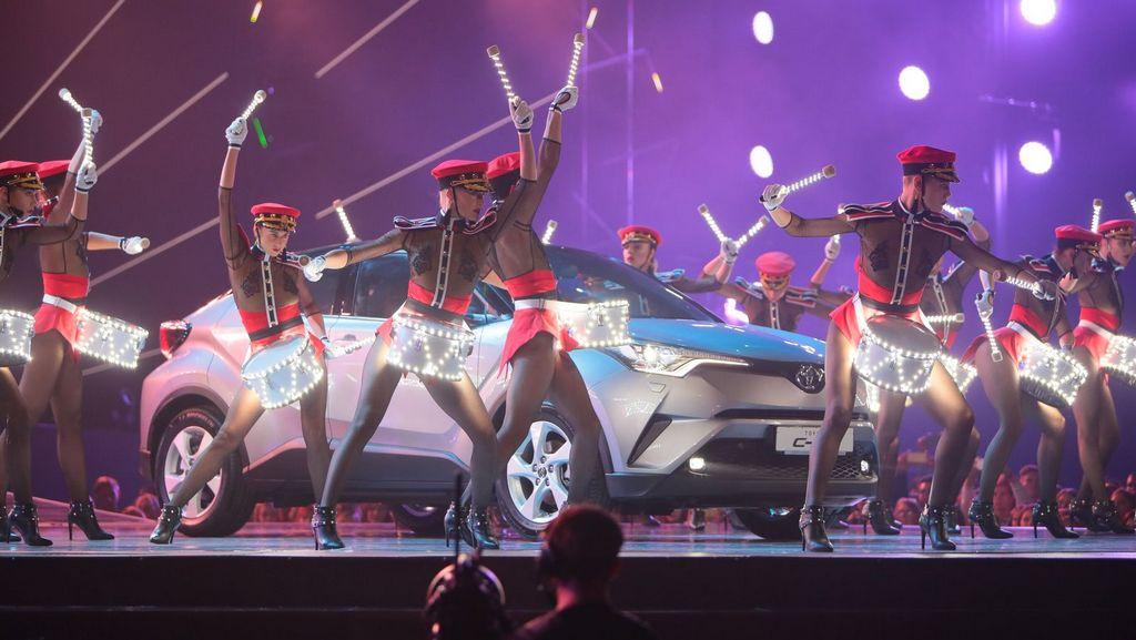 Toyota C-HR на М1 Music Awards 2016