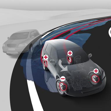 Система курсової стійкості автомобіля (VSC)